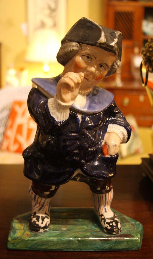 "Hiden Galleries: 19th-century Staffordshire figure, ""John Bull"""
