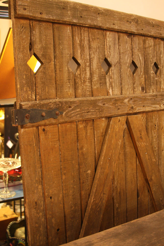 Hiden Galleries: 100-year-old barn door from Maine