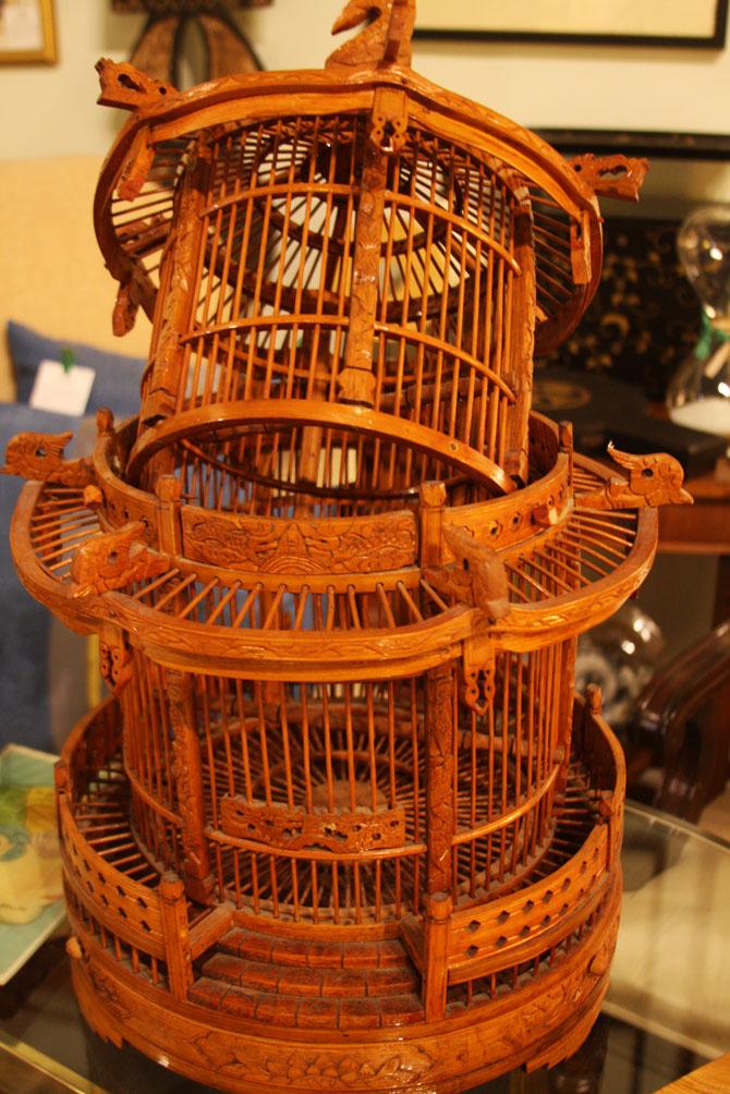 Hiden Galleries: vintage Chinese birdcage