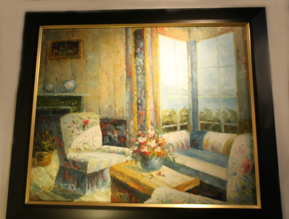 Hiden Galleries: signed oil painting