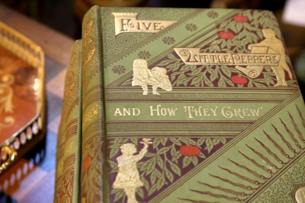 Hiden Galleries: Five Little Peppers, 5-vol. set, 1899