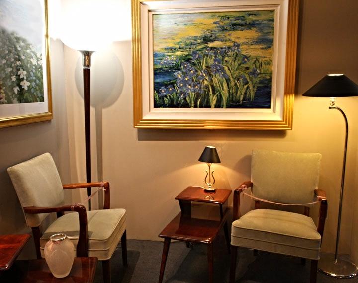 Hiden Galleries: Heywood Wakefield Art Deco chairs