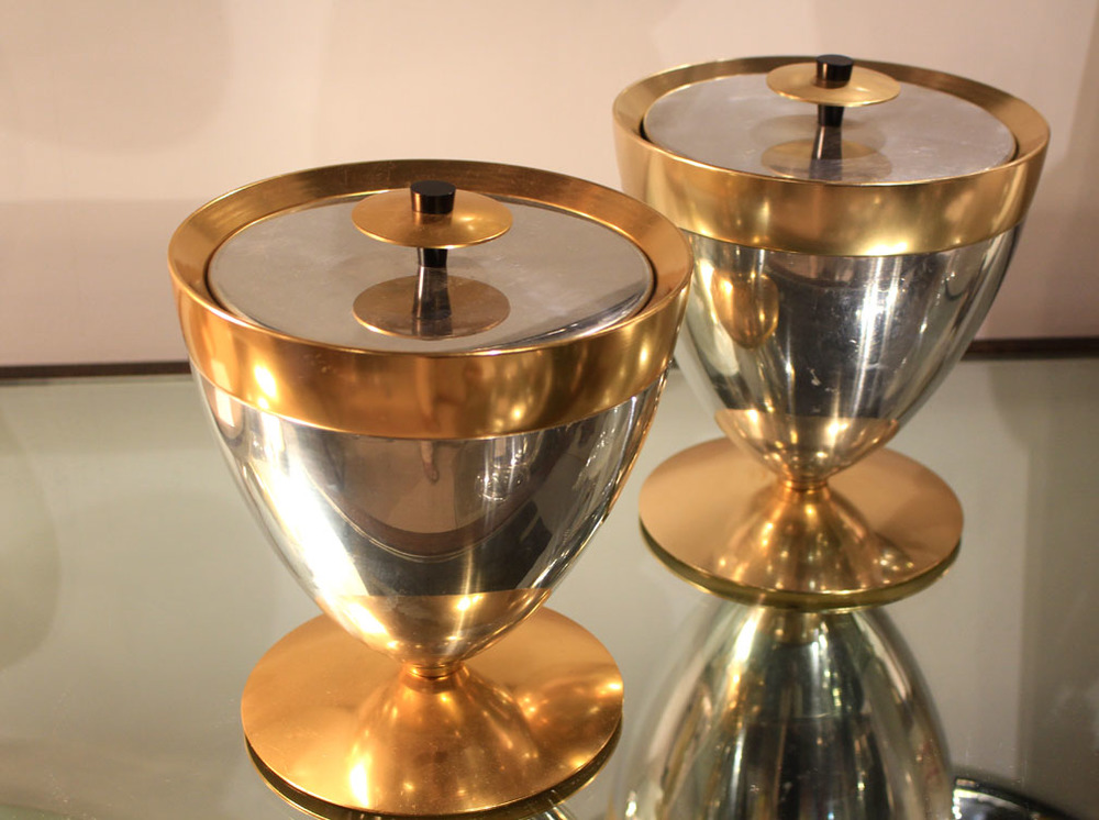 Hiden Galleries: pair of 1970s ice buckets
