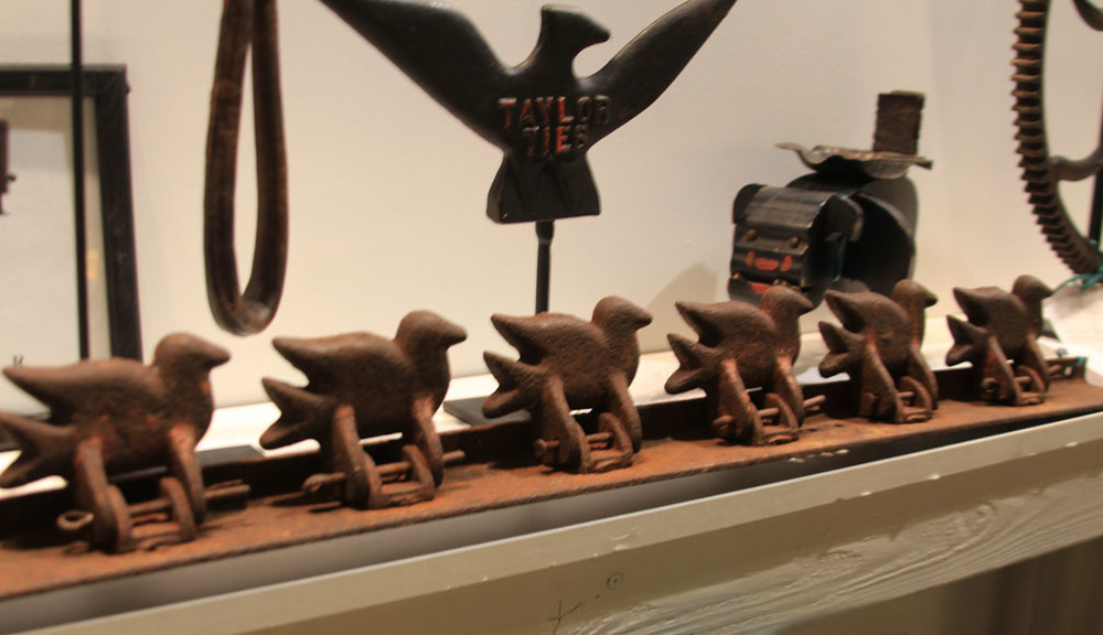 Hiden Galleries: antique cast iron shooting gallery