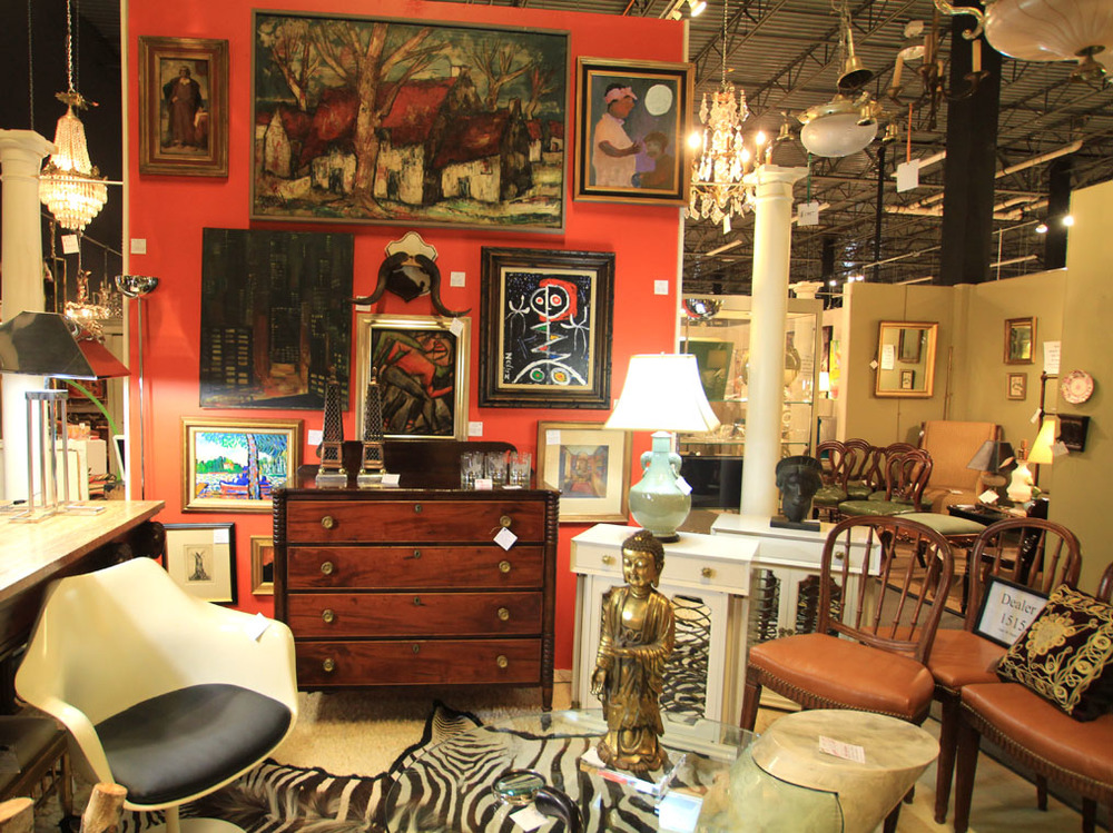 Hiden Galleries: vintage, antique, mid-century modern and high design