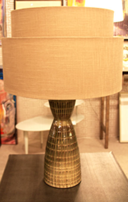 Hiden Galleries: pair of limited edition handmade lamps