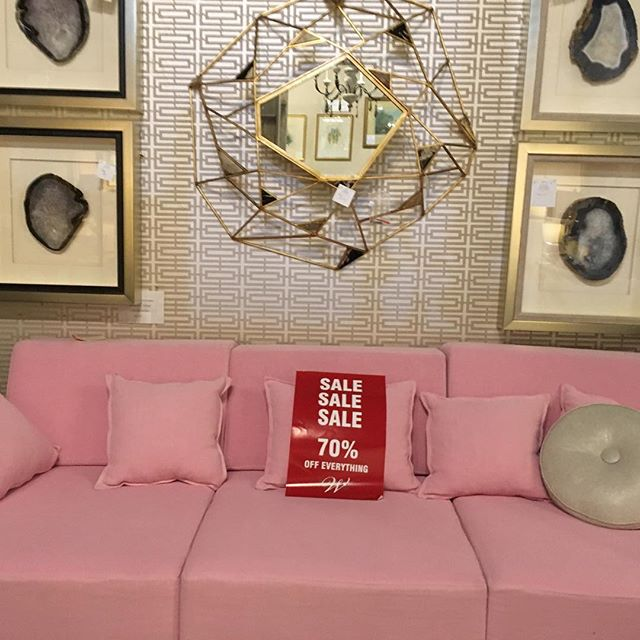 Wakefield Design has 70% off in this booth. Less than two weeks until Hiden Galleries closes.  #vintage #furnishings #hidengalleries #antique #interiors #pink