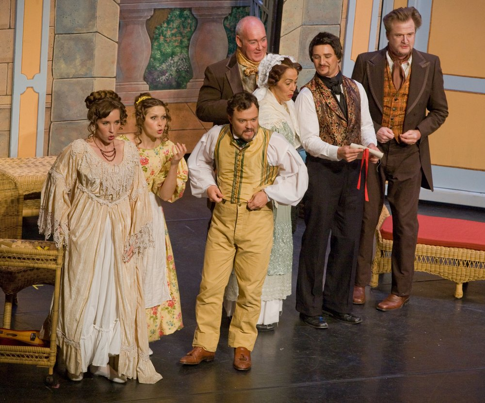 Finale of Act II as Susanna in Mozart's  Le nozze di Figaro  with Stockton Opera, 2013. © Steve Pereira