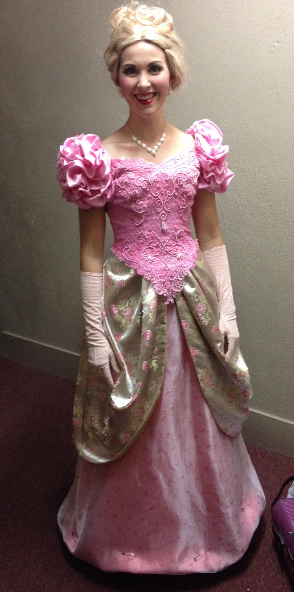 As Adele ( Die Fledermaus ) with Stockton Opera, 2015