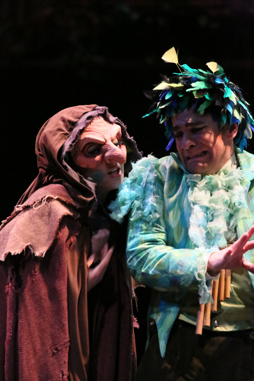 As the Old Woman/Papagena in Hawai'i Opera Theatre's  Magic Flute , 2015. (c) David Takagi.