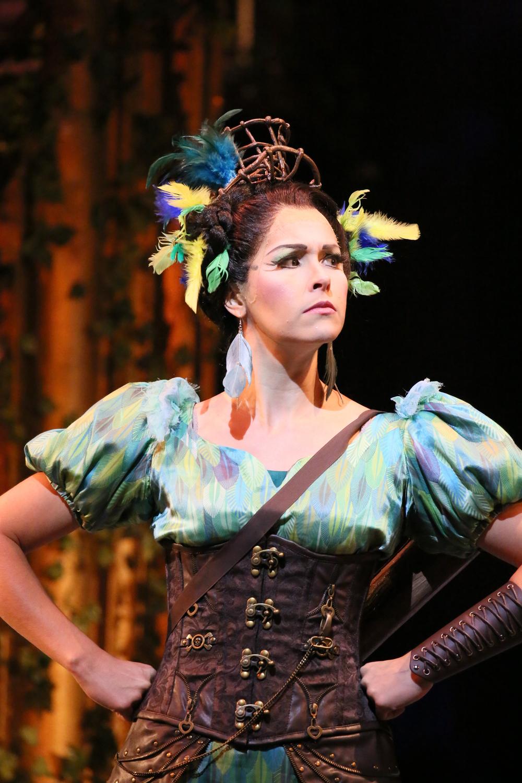 As Papagena in Hawai'i Opera Theatre's  Magic Flute , 2015. (c) Daivd Takagi.