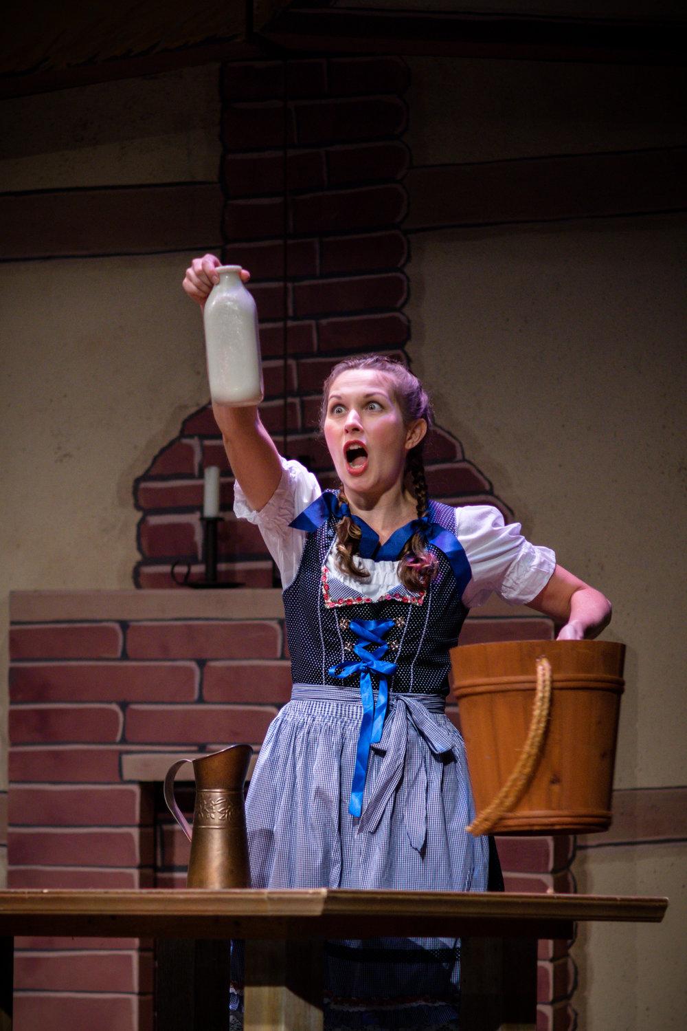 Gretel in  Hansel und Gretel  with Stockton Opera, 2018,(c) Erich Rau