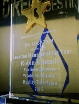 COLA Award Professional of the Year: Documentary/Reality TV