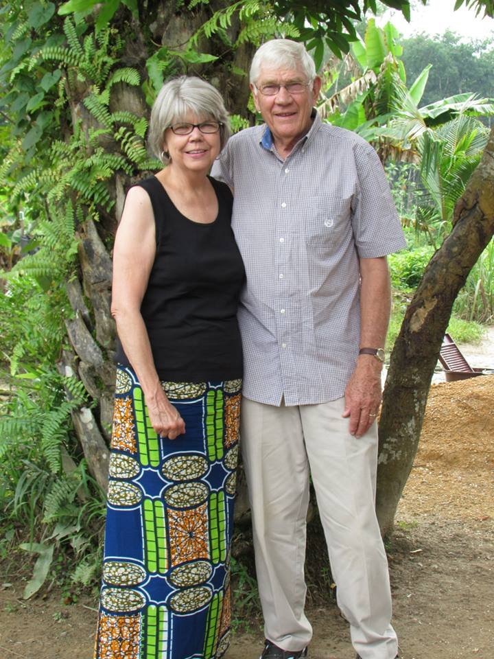 Ken and Rosemary Welch, missionaries for the past 33 years.