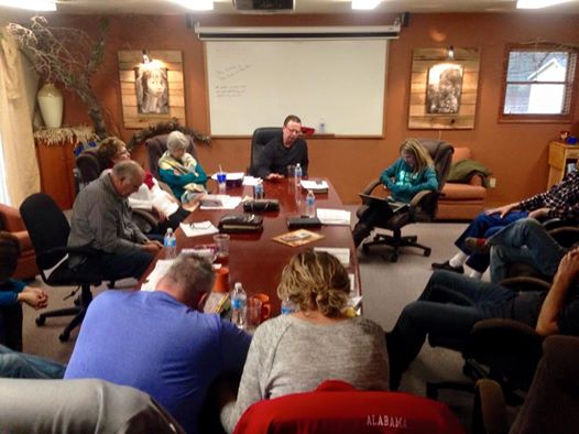 Praying together... a New Year 2015!