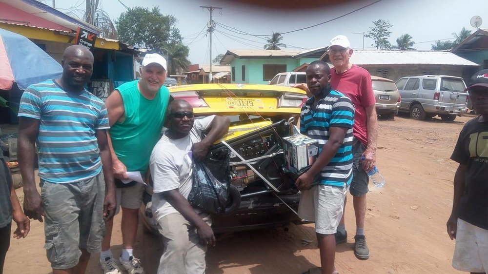 Supply buying in Monrovia with Hank Demark & Ken Welch