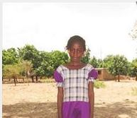 Compassion International  - Momentum provides monthly support and sponsorship to Sylvie  in Burkina Faso.