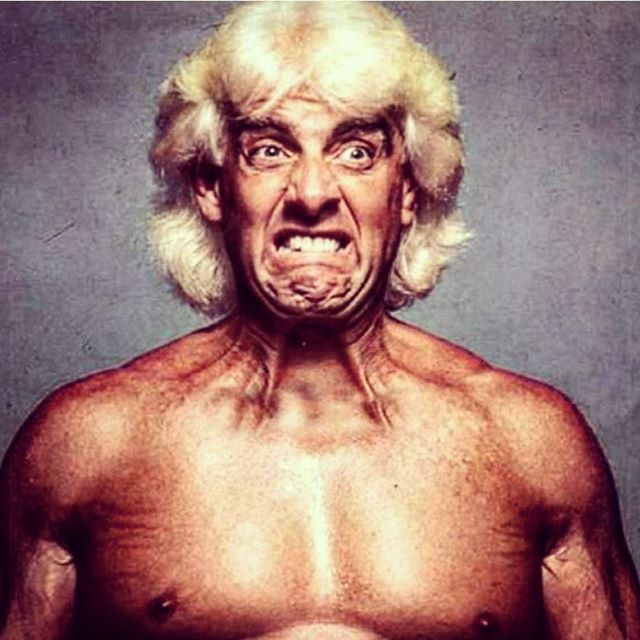 #ricflair #natureboy #candid #classic #prowrestling #gross #livekayfabe