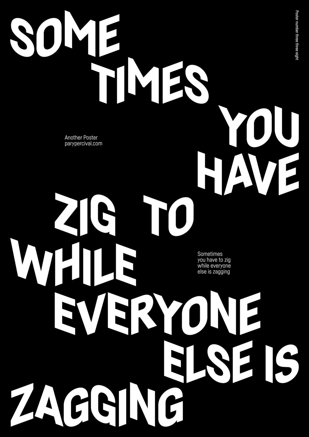 Zig & Zagging