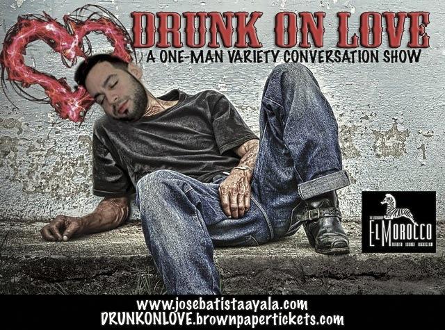DRUNK ON LOVE flyer