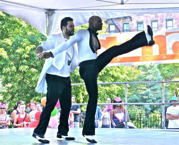Salsa Performance at The Dance Parade