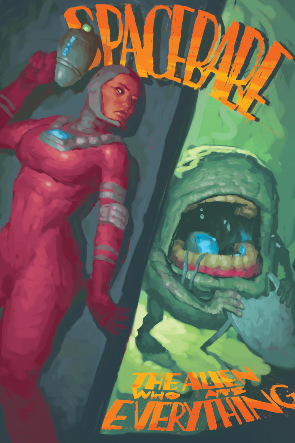 Spacebabe and the Alien who Ate Everything