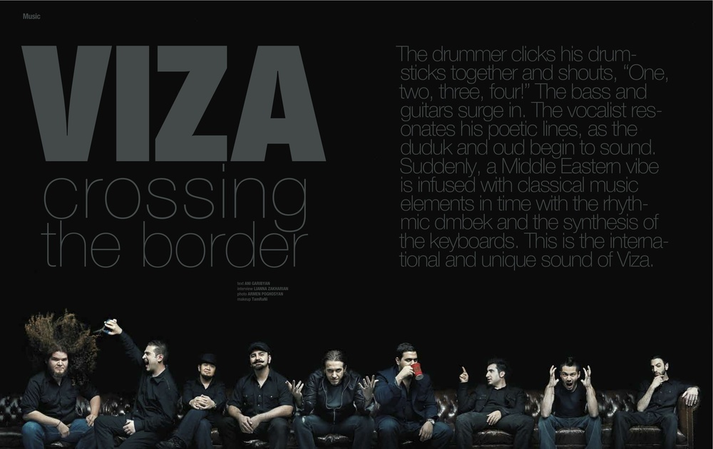 VIZA Crossing the Border    The well blended complexities of the band VIZA
