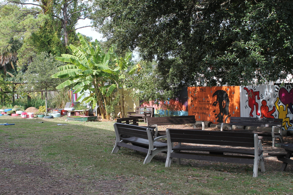 Outdoor classrooms serve educational and behavioral purposes.