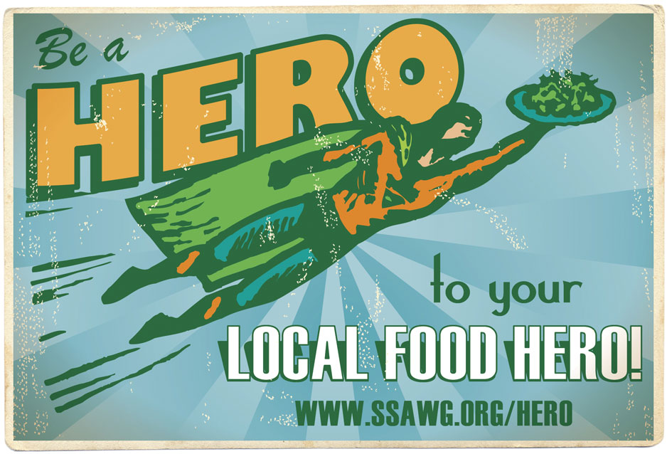 Please consider making a donation to provide scholarships for farmers to attend the Practical Tools and Solutions for Sustaining Family Farms conference. Click here to be a Local Food Hero!