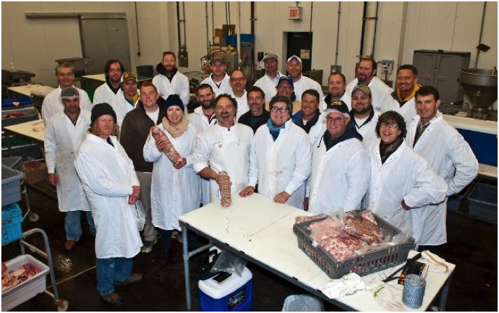 Marksbury Farm Market processing facility.