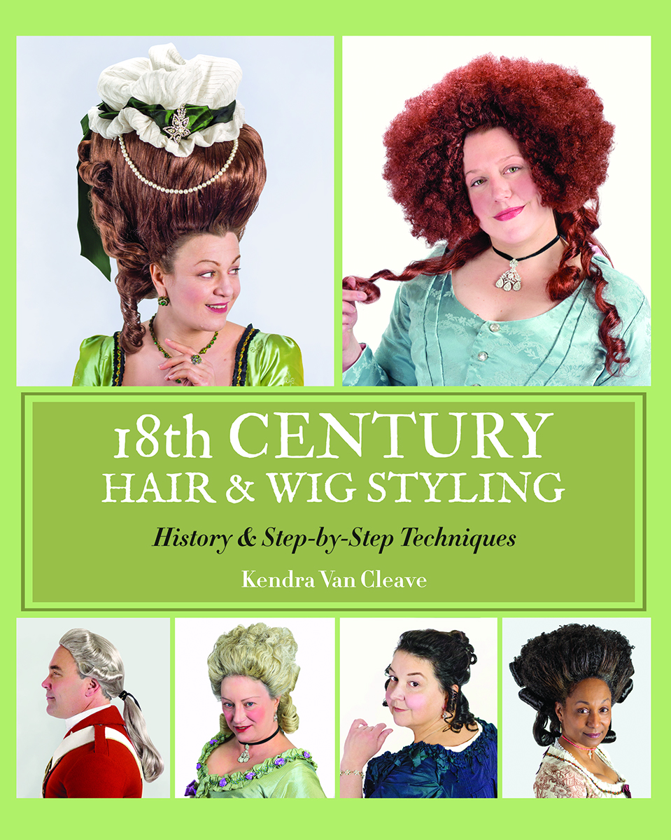 hair styling books 18th century hair amp wig styling book 18th century hair 8994