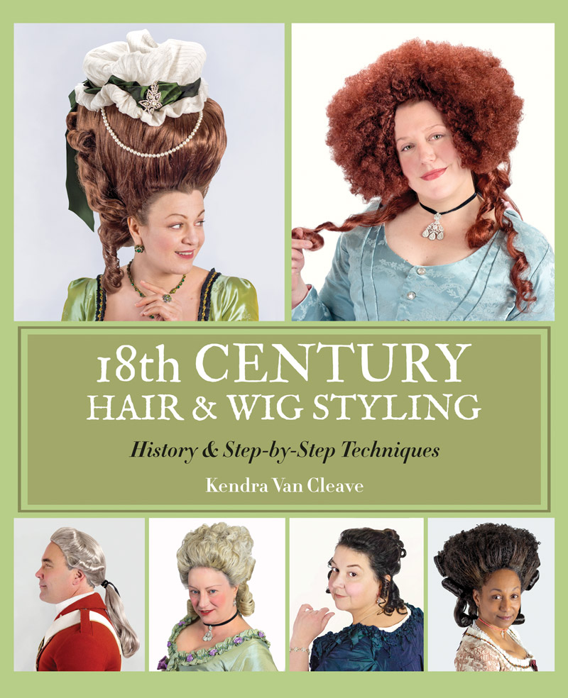 18th century hair & wig styling book — 18th century hair & wig