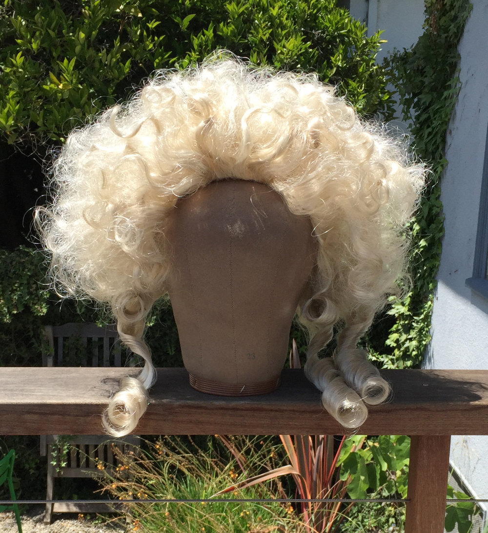 Late 18th Century Women's Wig - Pale Blonde, 1780s Style — 18th Century Hair  & Wig Styling: History & Step-by-Step Techniques