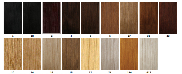 Hair Color Matching Service 18th Century Hair Wig Styling
