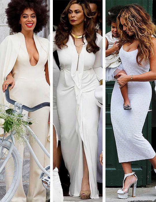 Solange, Tina & Beyonce
