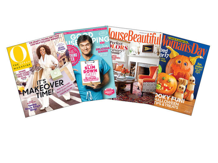 Hearst Magazines 1-Year Subscription: Oprah, Woman's Day, and More, $5 Deal Run Date Ends: 10/8/15