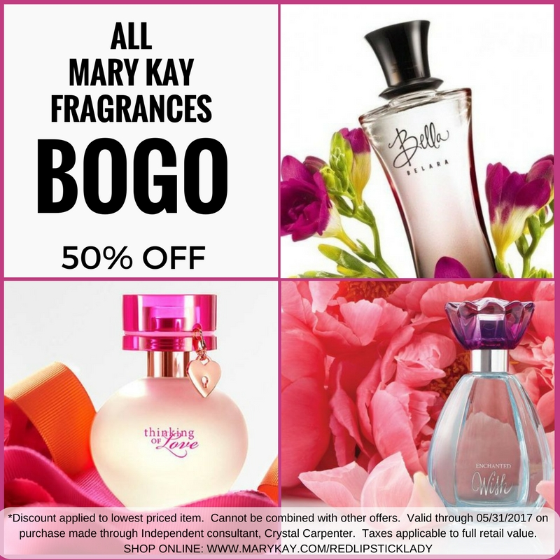 MAY SPECIALS!!!! HIS X HER FRAGRANCES BOGO 50% OFF