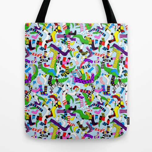 Hide and Seek tote bag.