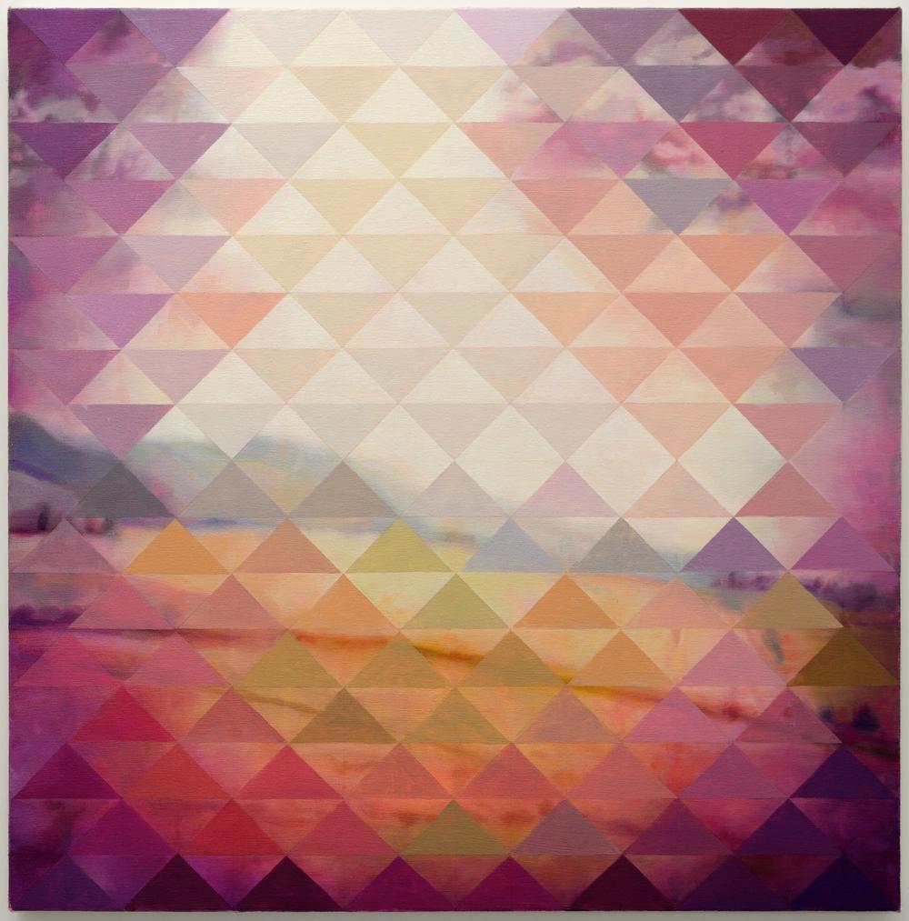 """Gypsy 2014-2015  oil on canvas 32x32"""""""