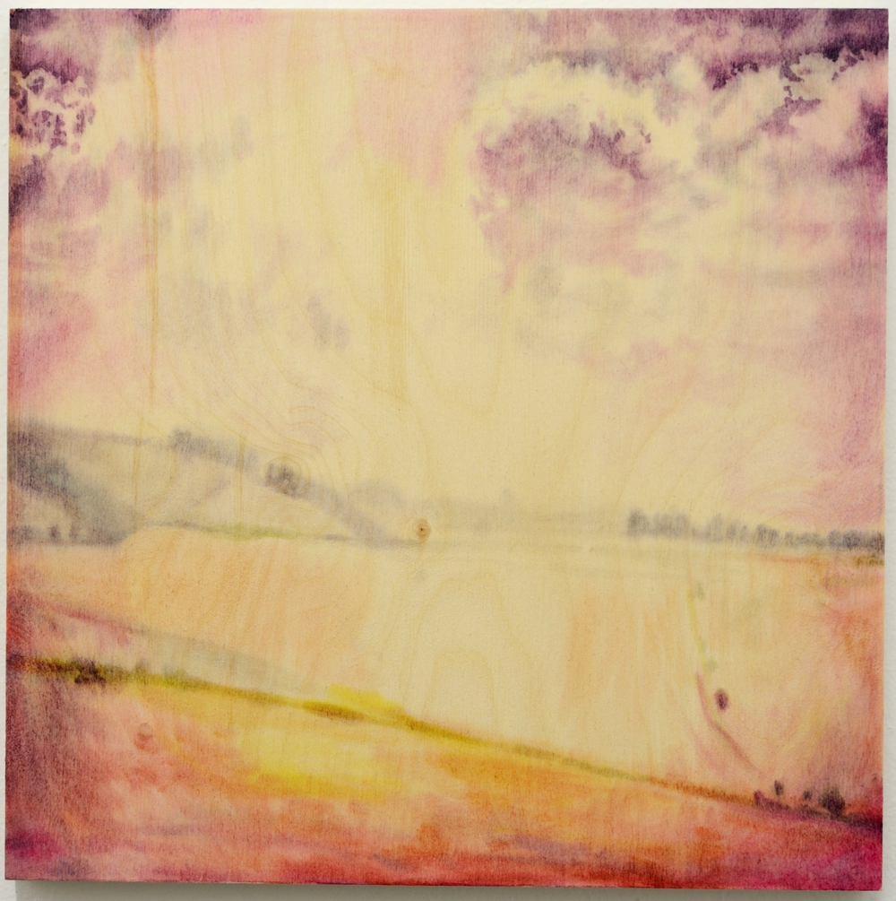 "Vignette 2015 oil on birch panel 12x12"""