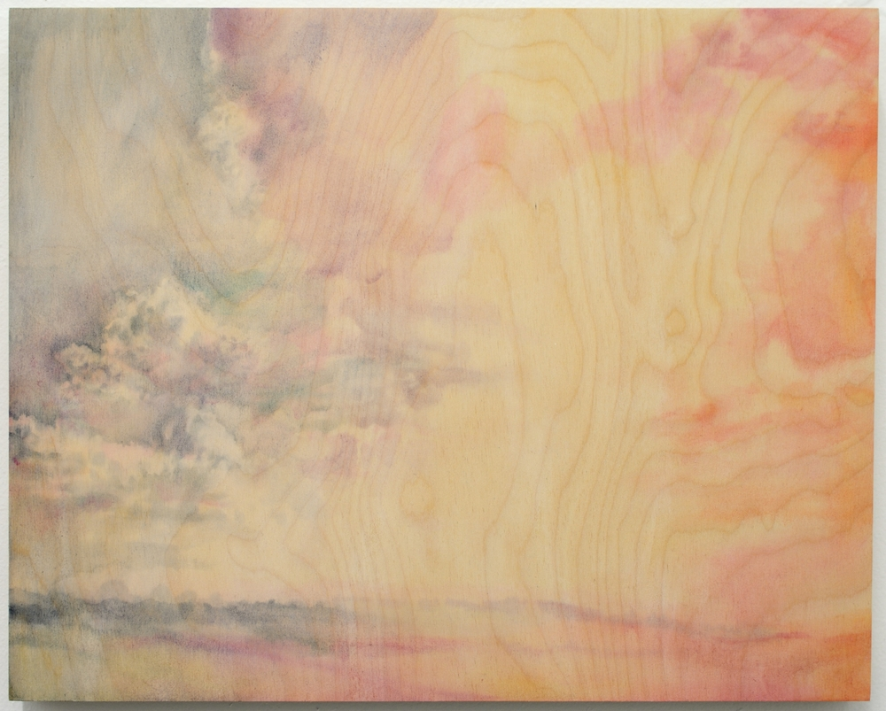 """Orange Accumulated  2015 oil on birch 16x20"""" 