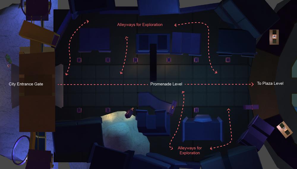 Promenade level design