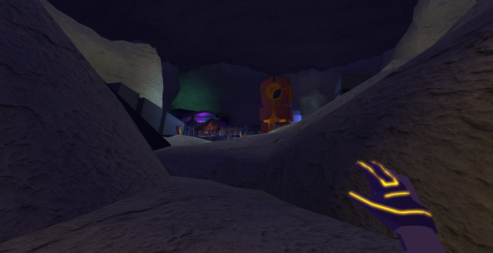 Current in-game screenshot - initial view upon entering level and establishing points of interest