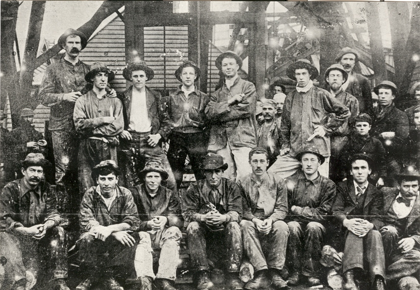 Ballarat School of Mines students in times past