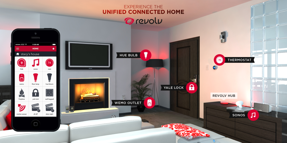 Revolt - Unified Connected Home