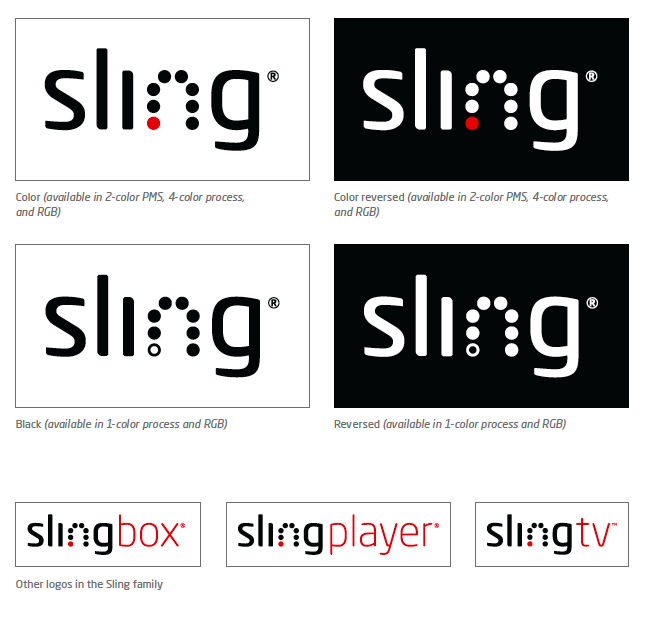 Sling Media - Brand Identity