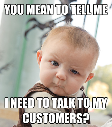 Talk-to-your-customers
