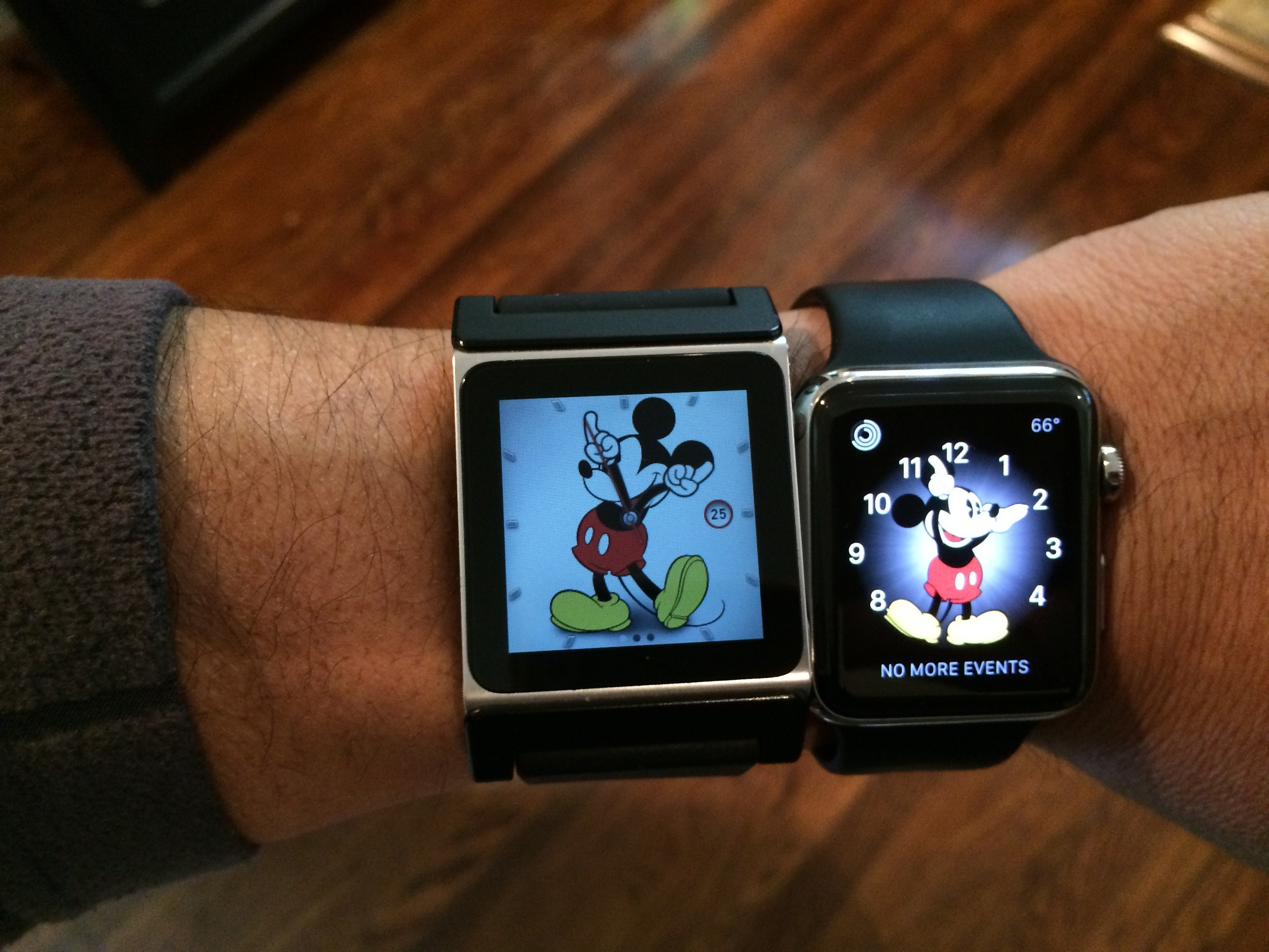 iPod Nano+Apple Watch