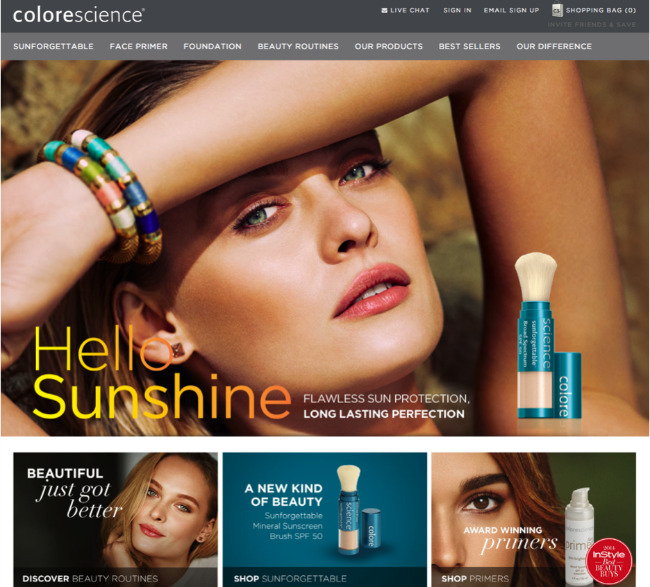Colorescience - Go to market