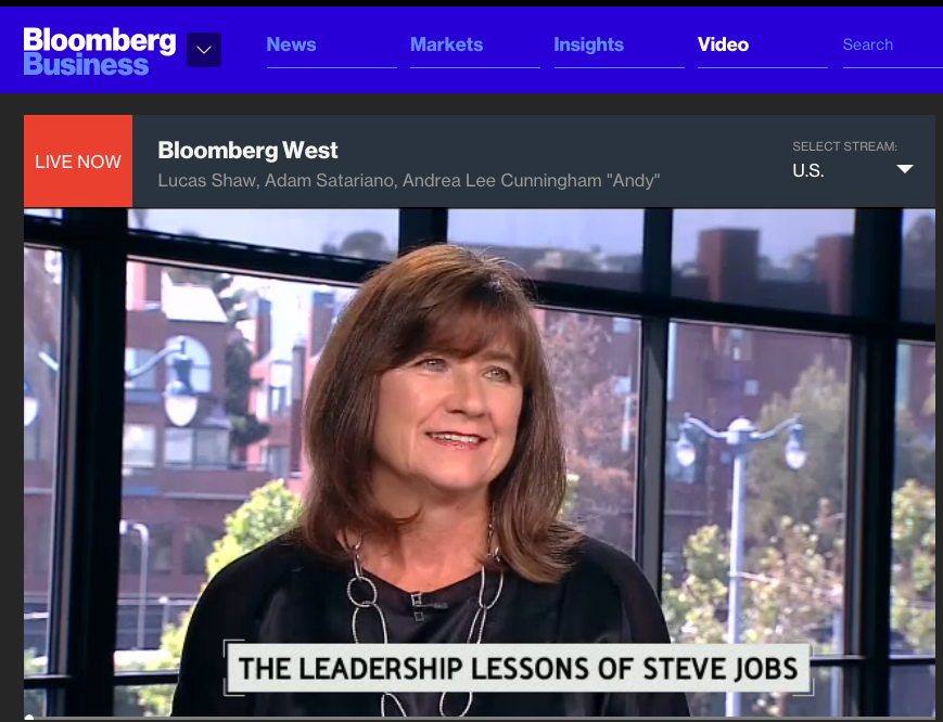 Andy on Bloomberg West 1
